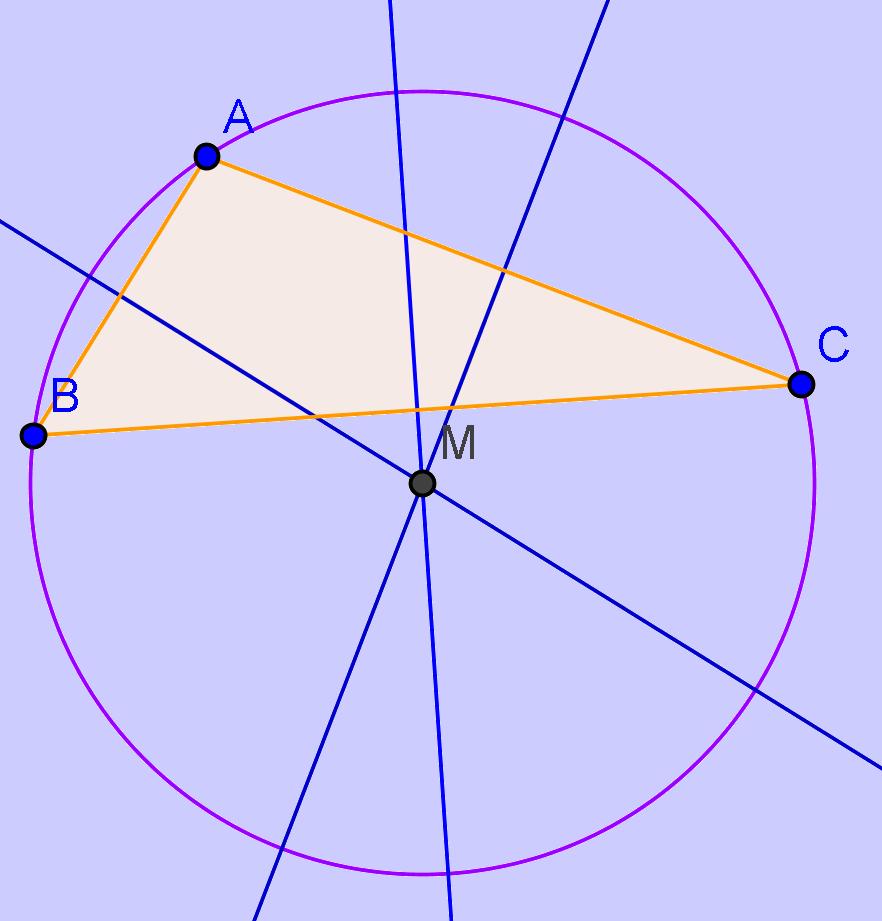 Propriete cercle circonscrit rectangle
