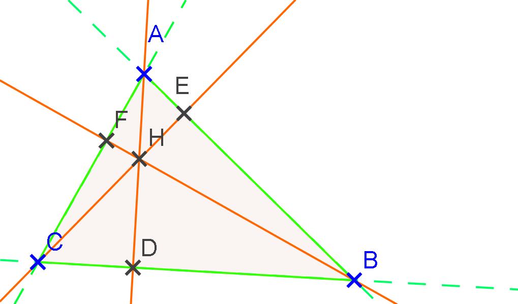 Comment construire les 3 hauteurs d 39 un triangle la r ponse est sur admi - Definition d une hauteur ...